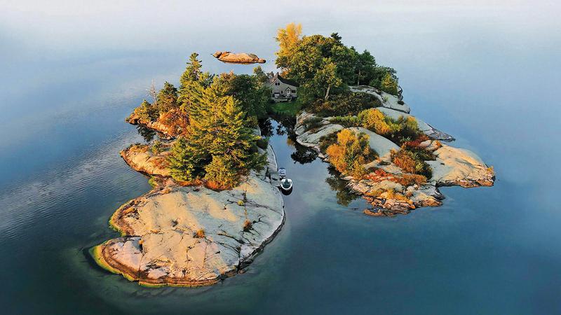 ليس كل ما يطل على البحر يصلح لأن يكون جزيرة خاصة.  أرشيفية