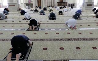 «الشؤون الإسلامية»: إقامة صلاة الجمعة مرتبطة بنجاح «الفتح التدريجي للمساجد»