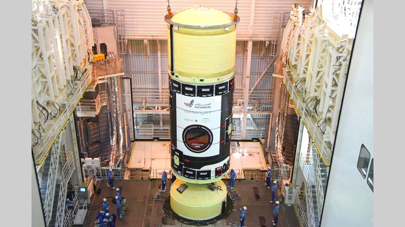 «مسبار الأمل» ينطلق إلى المريخ في 15 يوليو الجاري.  من المصدر