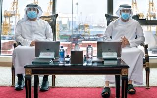 حمدان بن محمد: ميناء جبل علي بوابة العالم اللوجستية