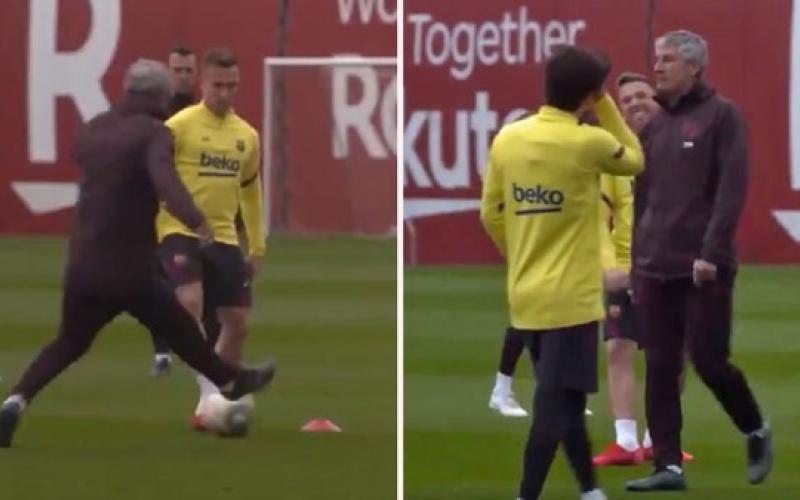 الصورة: بالفيديو.. الكشف عن سبب غضب مدرب برشلونة من البرازيلي أرتور والسماح برحيله إلى يوفنتوس