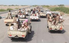 الصورة: الجيش اليمني يحرر مواقع استراتيجية بين مأرب والبيضاء