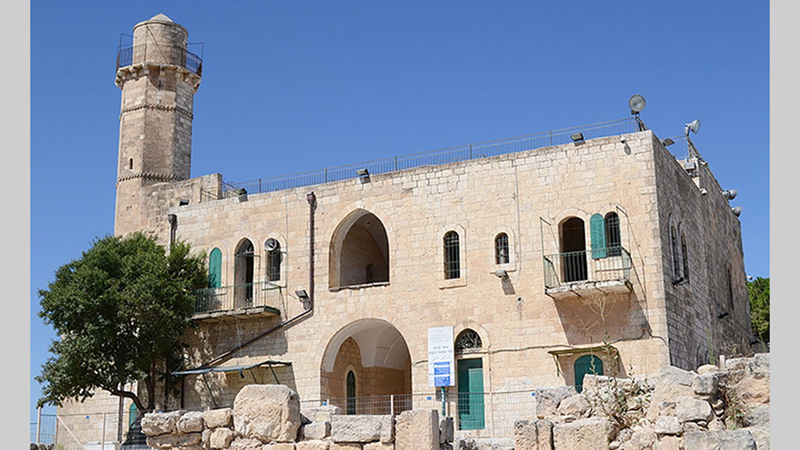 مسجد النبي صموئيل الإسلامي على قائمة التراث اليهودي. الإمارات اليوم