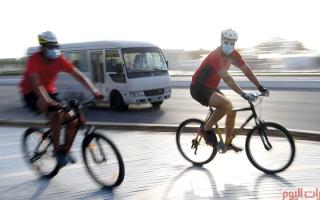 الصورة: كورنيش أبوظبي.. رياضة في الهواء الطلق
