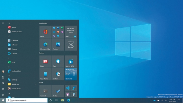 «مايكروسوفت» تطلق إصداراً جديداً من «ويندوز 10».. وتعالج ثغرتين