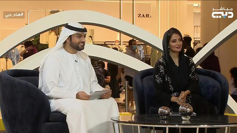 الحلقة الأولى بُثّت من «مول الإمارات».  من المصدر