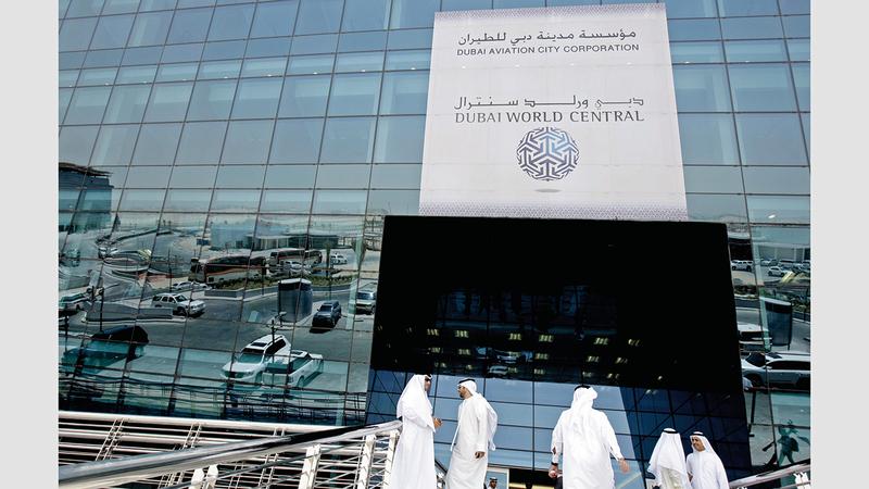 مؤسسة مدينة دبي للطيران والمؤسسات الملحقة بها تدعم القانون بشكل كامل. أ.ب