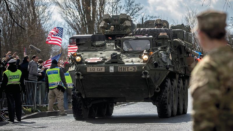 تقليص الوجود الأميركي في ألمانيا تجسيد لحالة الفتور في العلاقة بين الطرفين. أرشيفية - غيتي