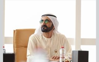 الإمارات الأولى  وإقليمياً والثامنة عالمياً في مؤشر الخدمات الذكية والرقمية.. محمد بن راشد: المستقبل لمن يتفوق رقمياً