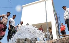الصورة: الإمارات تنفذ 32 مشروعاً لمياه الشرب في الساحل الغربي لليمن