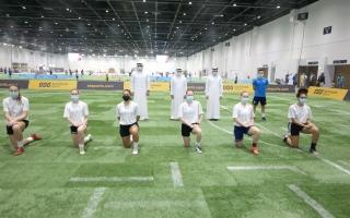 الصورة: بالفيديو.. «عالم دبي للرياضة» تتحدى «كورونا».. وتستمر 95 يوماً