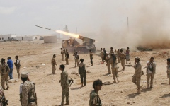 الصورة: الجيش اليمني يحرر مواقع استراتيجية في الجوف والبيضاء