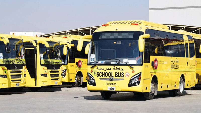 يجب تعقيم كل جزء في الحافلة عقب كل استخدام وبما يتماشى مع الإرشادات. من المصدر