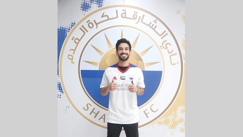 خالد باوزير انتقل إلى الشارقة بعقد يمتد لثلاثة مواسم. من المصدر