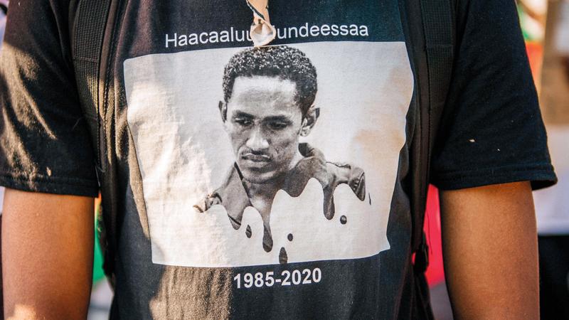 هونديسا تحوّل في عيون الإثيوبيين إلى أيقونة. ■ أ.ف.ب