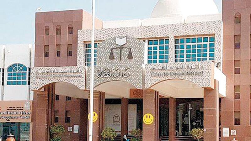 دائرة المحاكم تحرص على تحقيق السرعة في الفصل بالقضايا. من المصدر