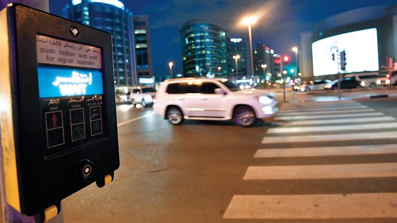 «استراتيجية السلامة المرورية لدبي حدّدت بصفر وفاة، لتكون من الأكثر أماناً في السلامة المرورية بحلول 2021».