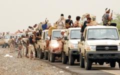 الصورة: مصرع قيادات حوثية بارزة في جبهات محيط صنعاء