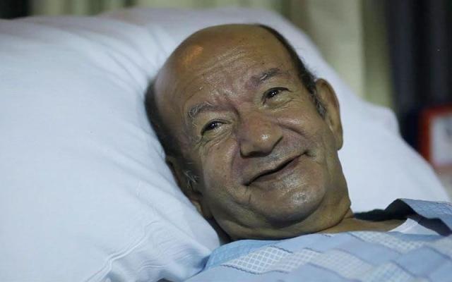 الصورة: لطفي لبيب بعد تعرضه لجلطة في المخ: أنا شبه معتزل ادعولي ربنا يشفيني