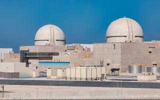 الصورة: تسلسل زمني لأهم محطات براكة للطاقة النووية