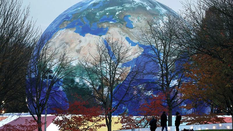 التغير المناخي يهدد الحياة في الكوكب.   أرشيفية