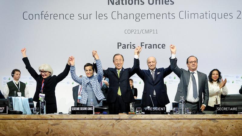 بايدن وعد بالعودة إلى اتفاق باريس حول المناخ.   أرشيفية