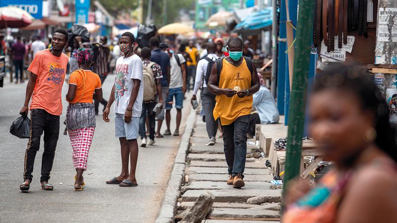 غانا بلد مسالم ويرحب بالزوار.  أرشيفية