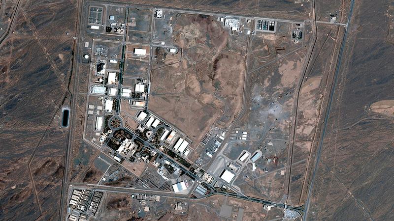 الهجوم على منشأة نطنز وقع بعد أسبوع من انفجار في موقع بارشين العسكري.  رويترز