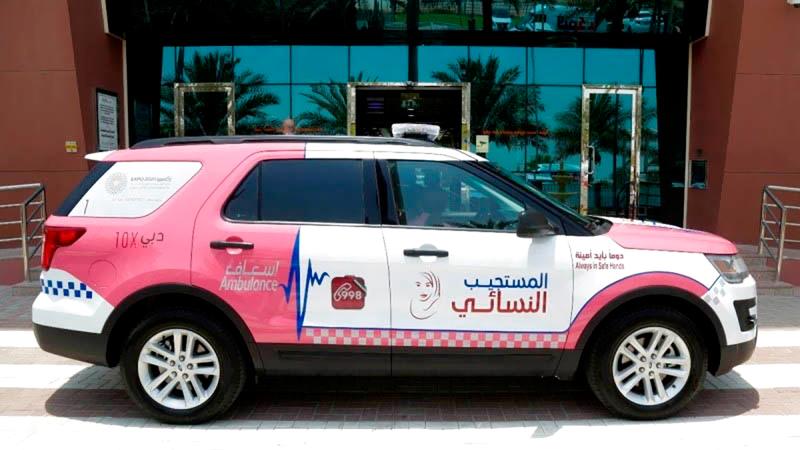 «إسعاف دبي» أطلقت أول مستجيب نسائي في يوليو 2017. من المصدر