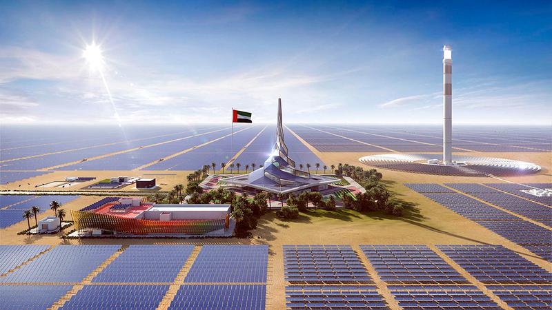 «كهرباء دبي» أسهمت في خفض الانبعاثات الكربونية في الإمارة.  من المصدر