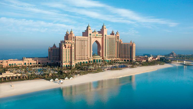 استراتيجية دبي أسهمت في تهيئة البيئة المناسبة، لاستئناف استقبال الزوّار والسيّاح. أرشيفية