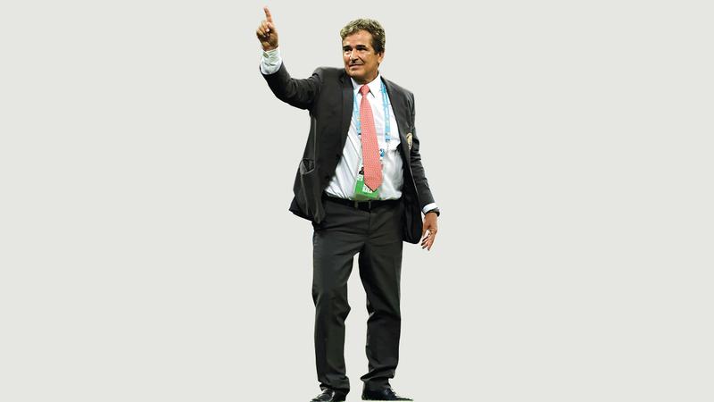 مدرب المنتخب الوطني خورخي بينتو.   من المصدر
