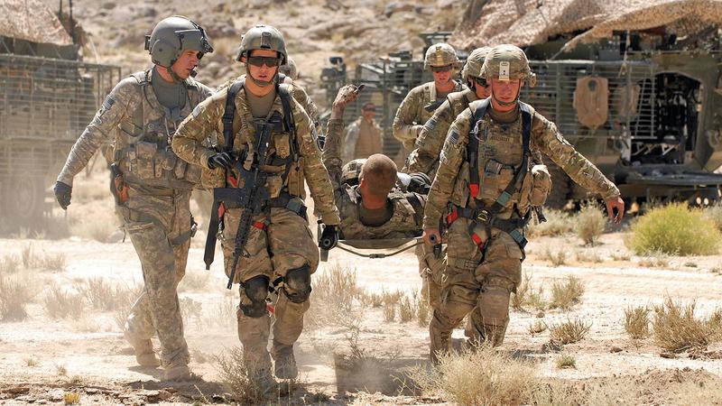 القوات الأميركية في أفغانستان تعرضت لهجمات من «طالبان» بتحريض من روسيا وفق مصادر المخابرات الأميركية. أرشيفية