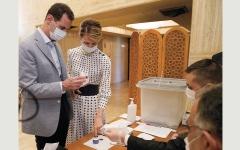 الصورة: السوريون يُدلون بأصواتهم لانتخاب برلمان جديد