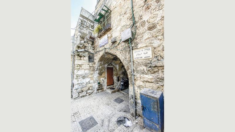 أملاك القدس مهددة بالسلب.  الامارات اليوم
