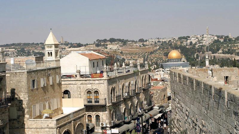 أملاك القدس تخضع لقانون «أملاك الغائبين» منذ عام 1967. الإمارات اليوم
