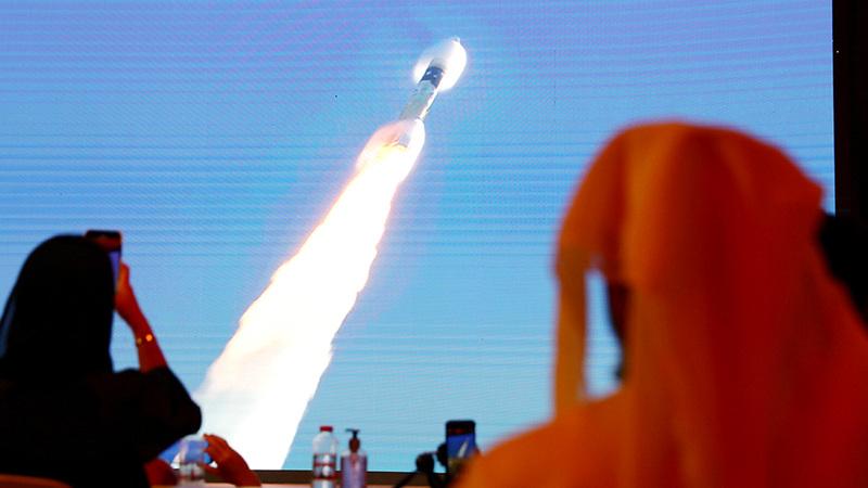الإمارات تقود العرب إلى المريخ. رويترز