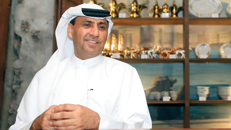 هاشم المرزوقي: «المشروع تعليمي يتناول كل جوانب الحياة المحلية، ويتوجه للأجانب، والجيل الجديد من الإماراتيين».