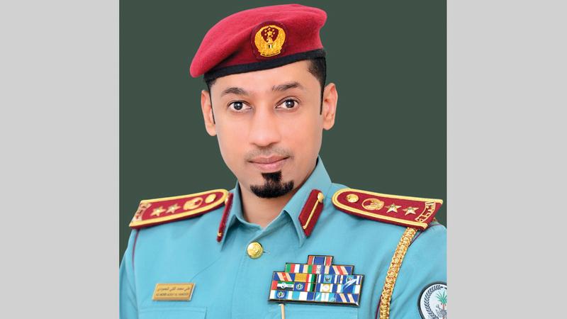 العقيد علي الحمودي: «تم نقل الجثمان إلى مستشفى كلباء لإتمام الإجراءات اللازمة».