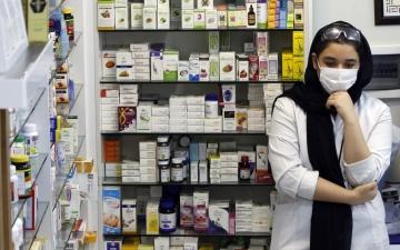 الصورة: إيران تسجل أعلى حصيلة وفيات يومية جراء «كوفيد-19»