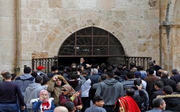 الصورة: شاهد بالفيديو.. مصلى باب الرحمة في المسجد الأقصى المهدد بالإغلاق