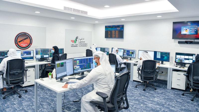 قطاع الفضاء الإماراتي يعد الأكبر على مستوى منطقة الخليج والشرق الأوسط. ■ وام