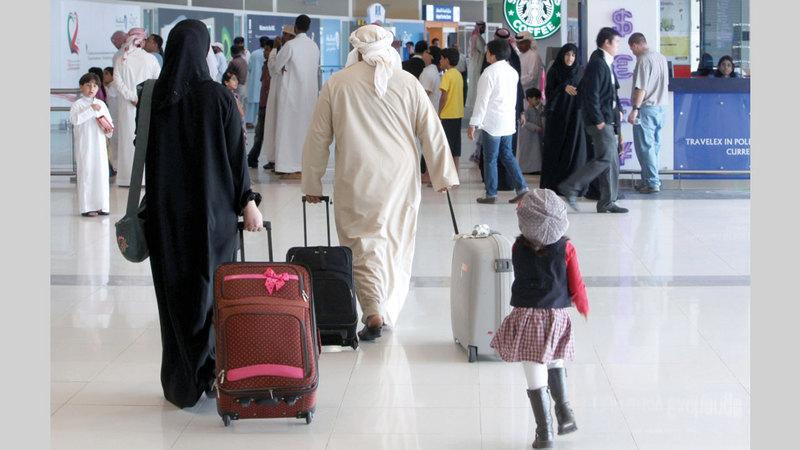 «كورونا» أجبر معظم العائلات على تأجيل خطط السفر.  أرشيفية