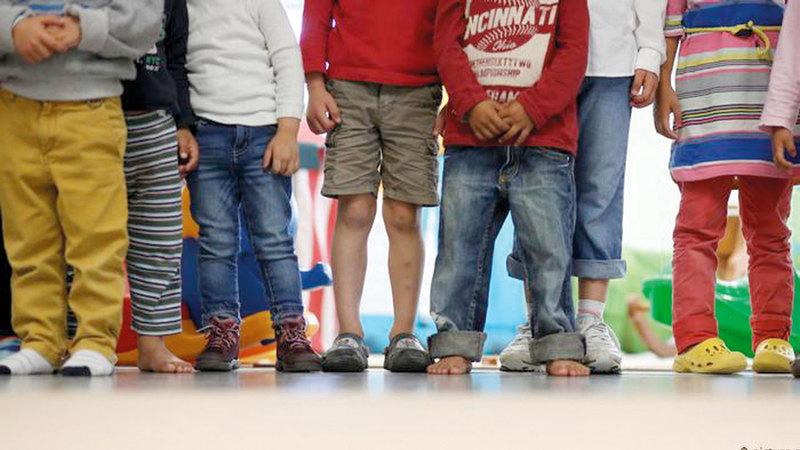 الأطفال الفقراء في ألمانيا يعانون لفترة طويلة. أرشيفية