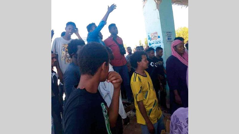 قرية رزيقات احتضنت الضيوف وأكرمتهم.  من المصدر