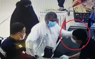 الصورة: السلطات الكويتية تضبط المعتدي على عامل مصري