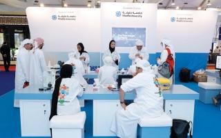 الصورة: جامعة خليفة تطلق 3 أقمار اصطناعية مصغرة