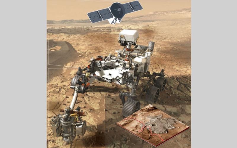 الصورة: غرافيك.. 2020 عام المريخ