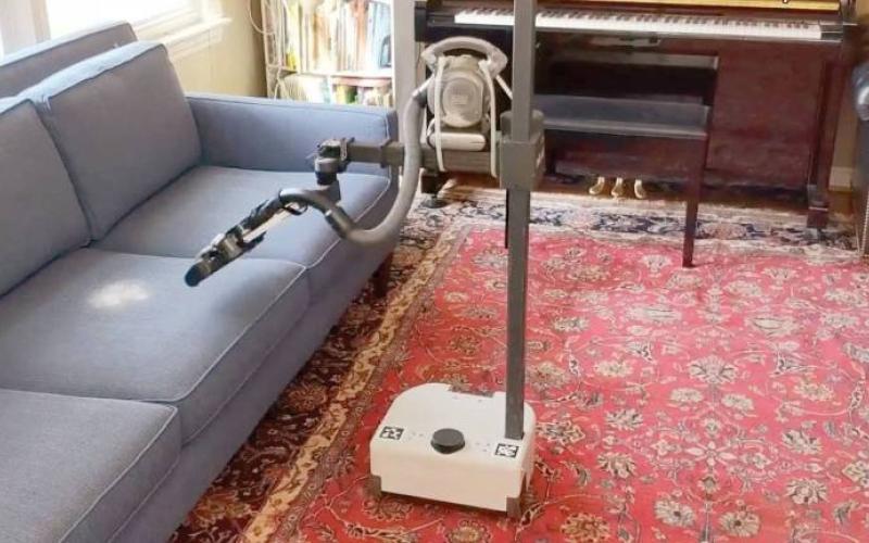 الصورة: بالفيديو ..«سترتش».. روبوت مثالي  لأداء الأعمال المنزلية