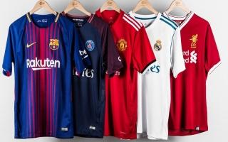 """الصورة: ترتيب قمصان الأندية الأكثر مبيعاً في العالم.. """"مفاجآت كبيرة"""""""